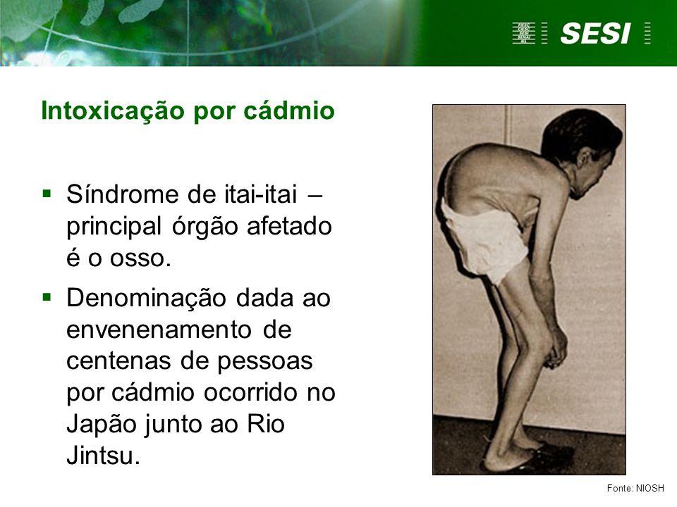 Intoxicação por cádmio