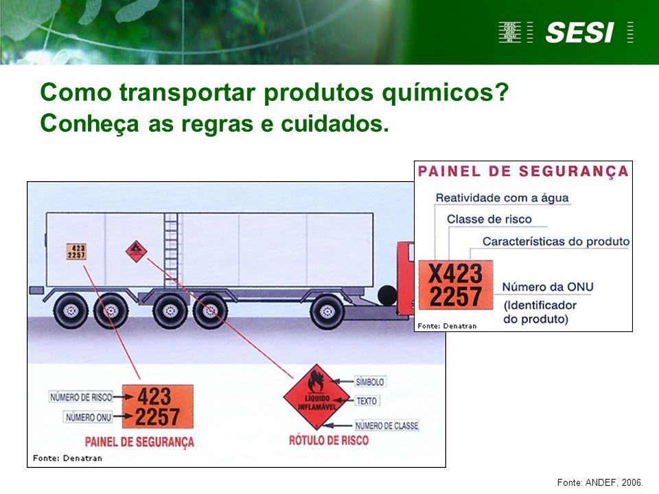 Como transportar produtos químicos Conheça as regras e cuidados.
