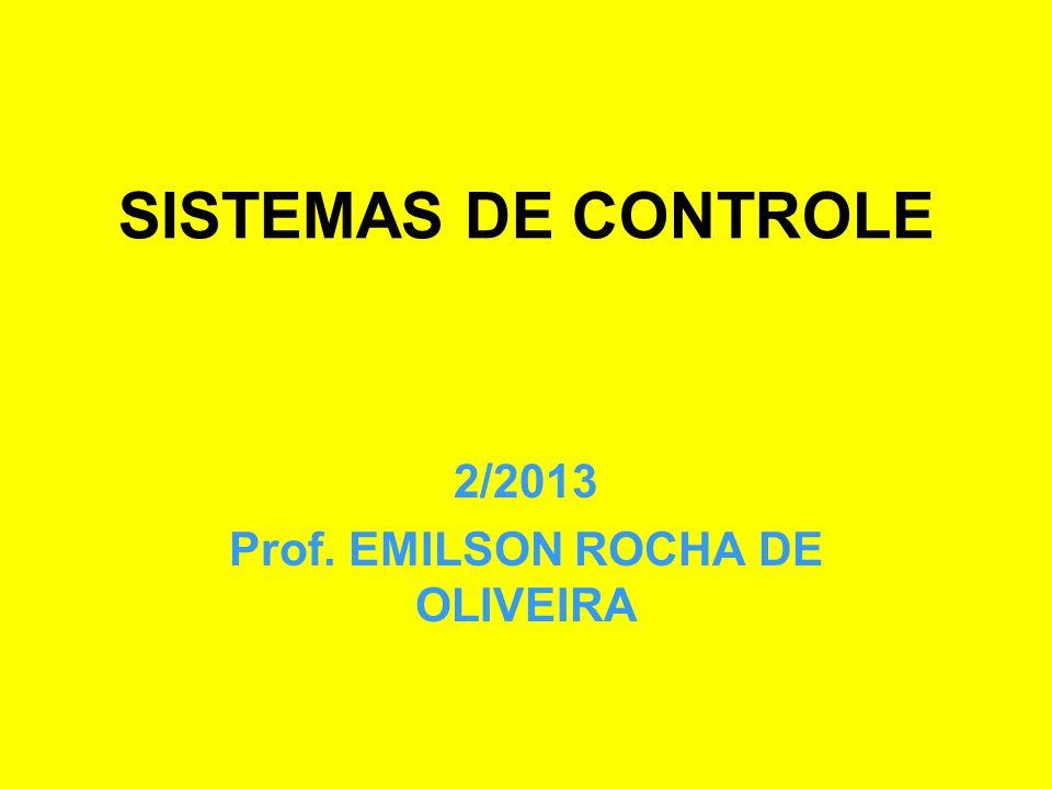 2/2013 Prof. EMILSON ROCHA DE OLIVEIRA