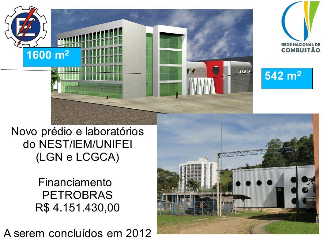 Novo prédio e laboratórios