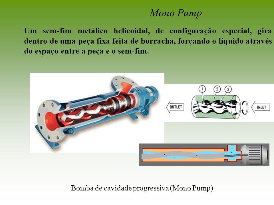 Bomba de cavidade progressiva (Mono Pump)