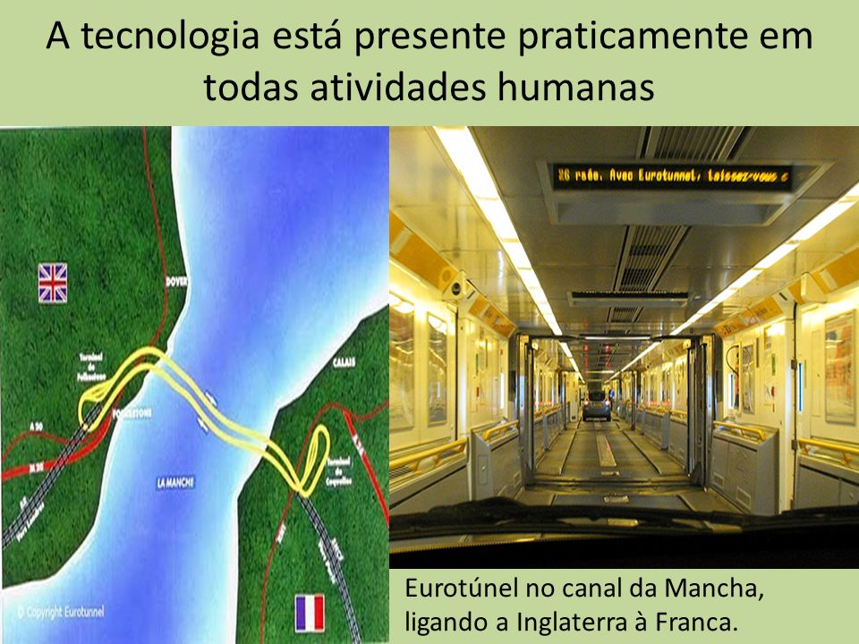 A tecnologia está presente praticamente em todas atividades humanas