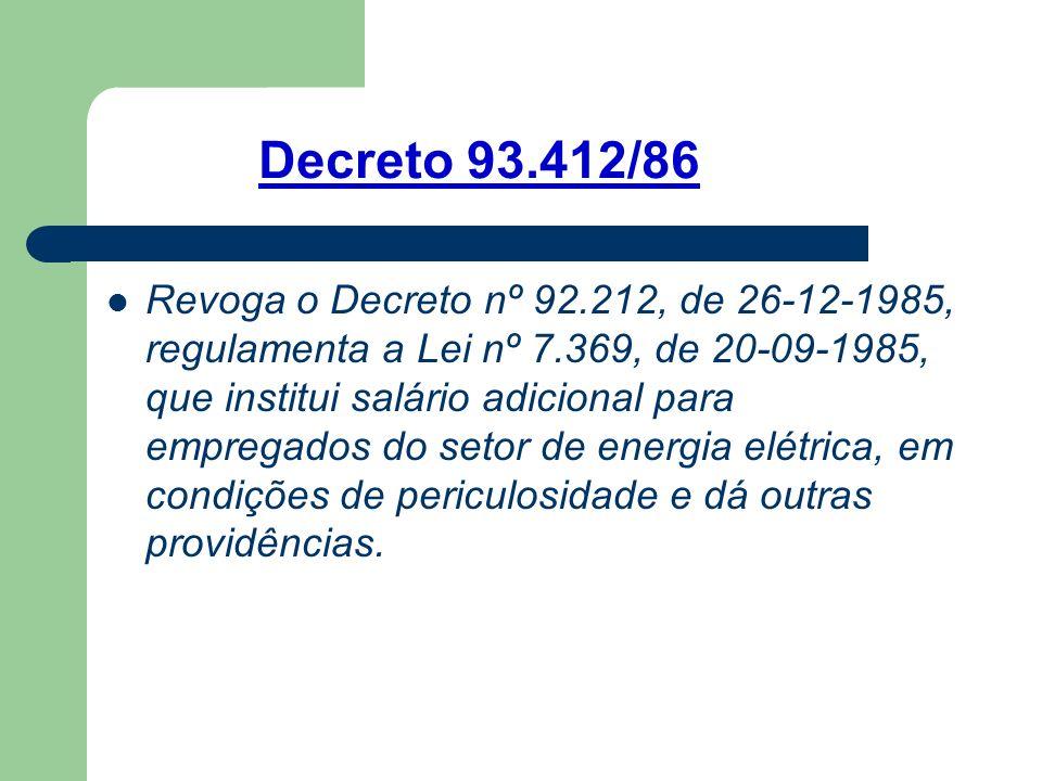 Decreto 93.412/86