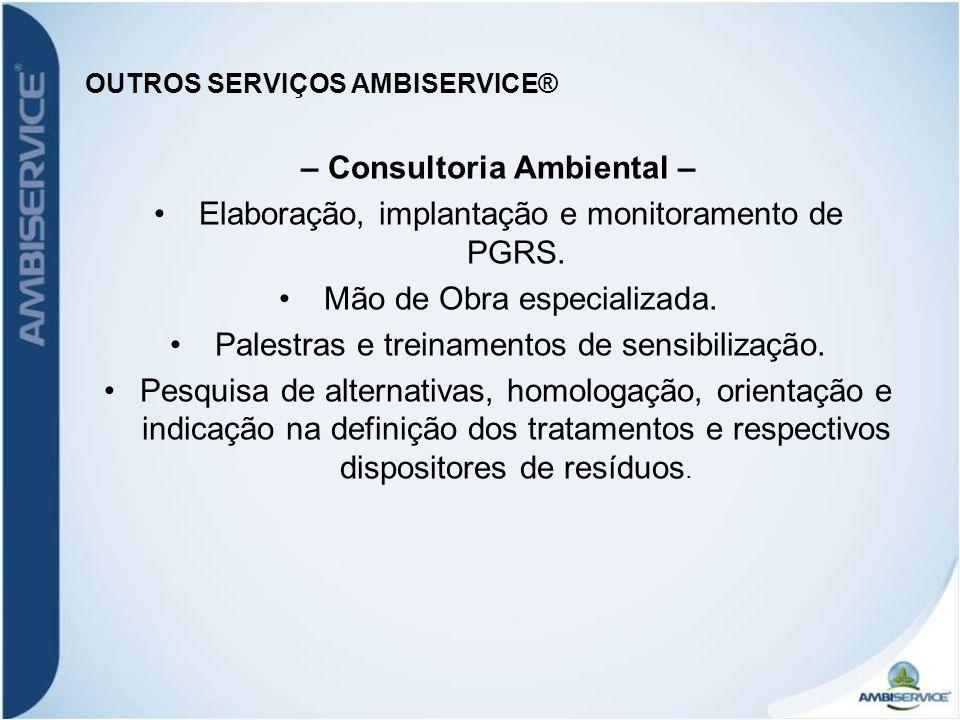 OUTROS SERVIÇOS AMBISERVICE®