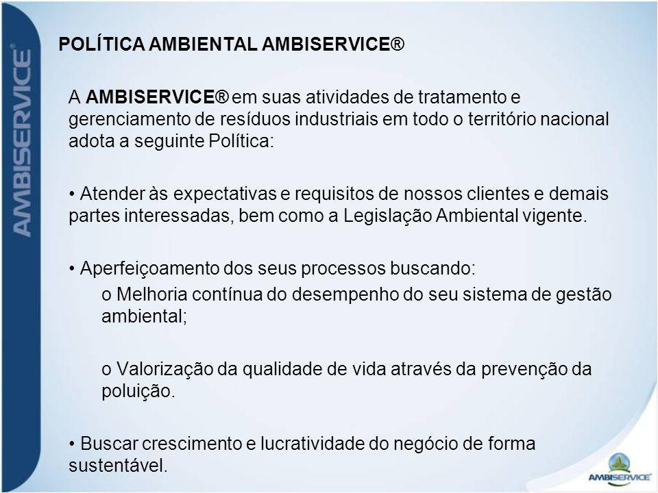 POLÍTICA AMBIENTAL AMBISERVICE®