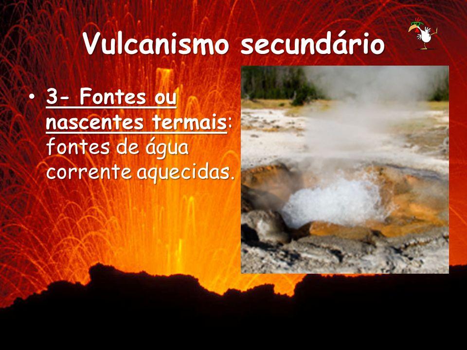 Vulcanismo secundário
