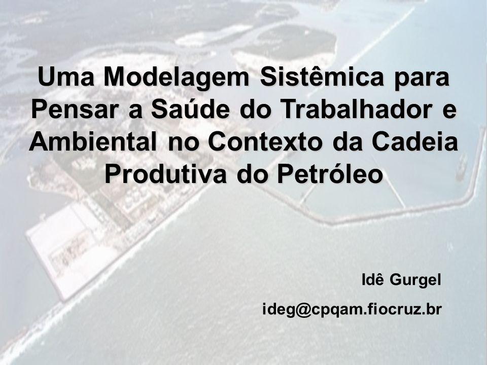 Uma Modelagem Sistêmica para Pensar a Saúde do Trabalhador e Ambiental no Contexto da Cadeia Produtiva do Petróleo