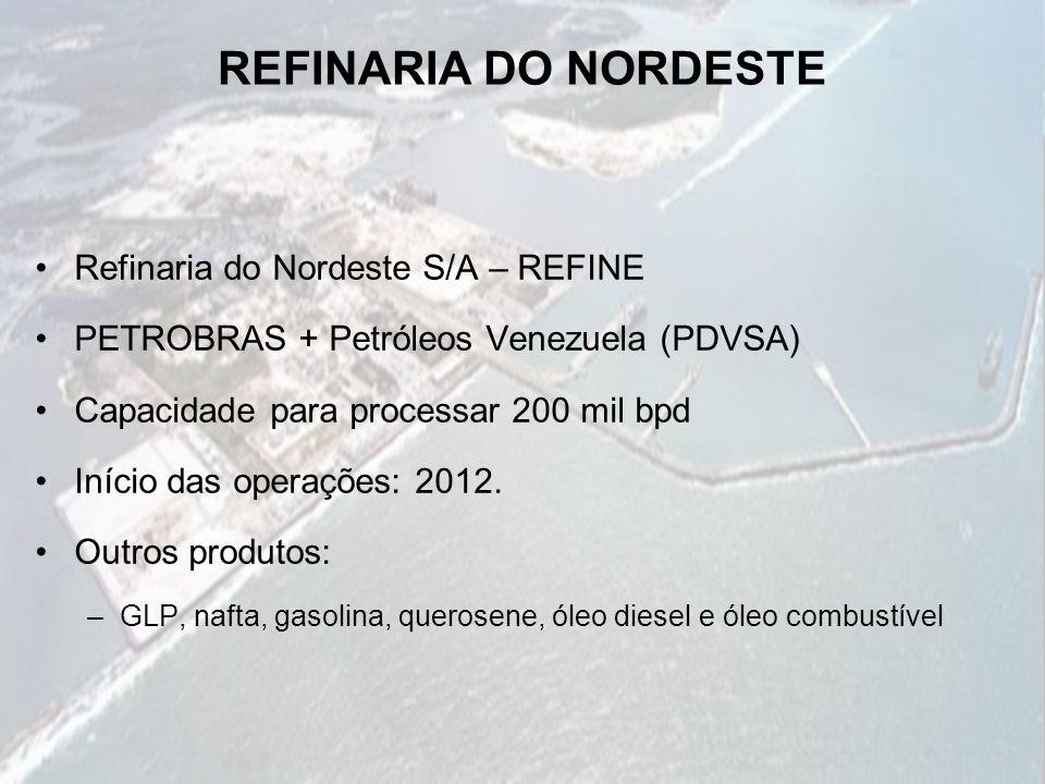 REFINARIA DO NORDESTE Refinaria do Nordeste S/A – REFINE