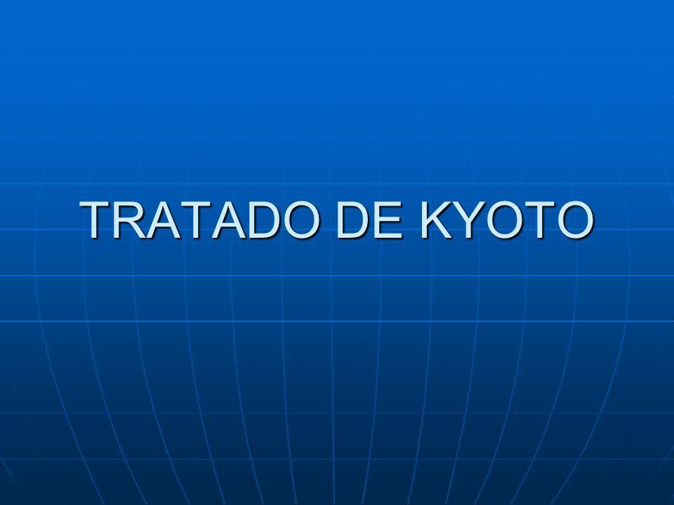 TRATADO DE KYOTO