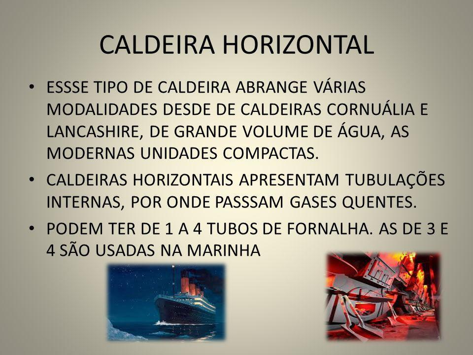 CALDEIRA HORIZONTAL
