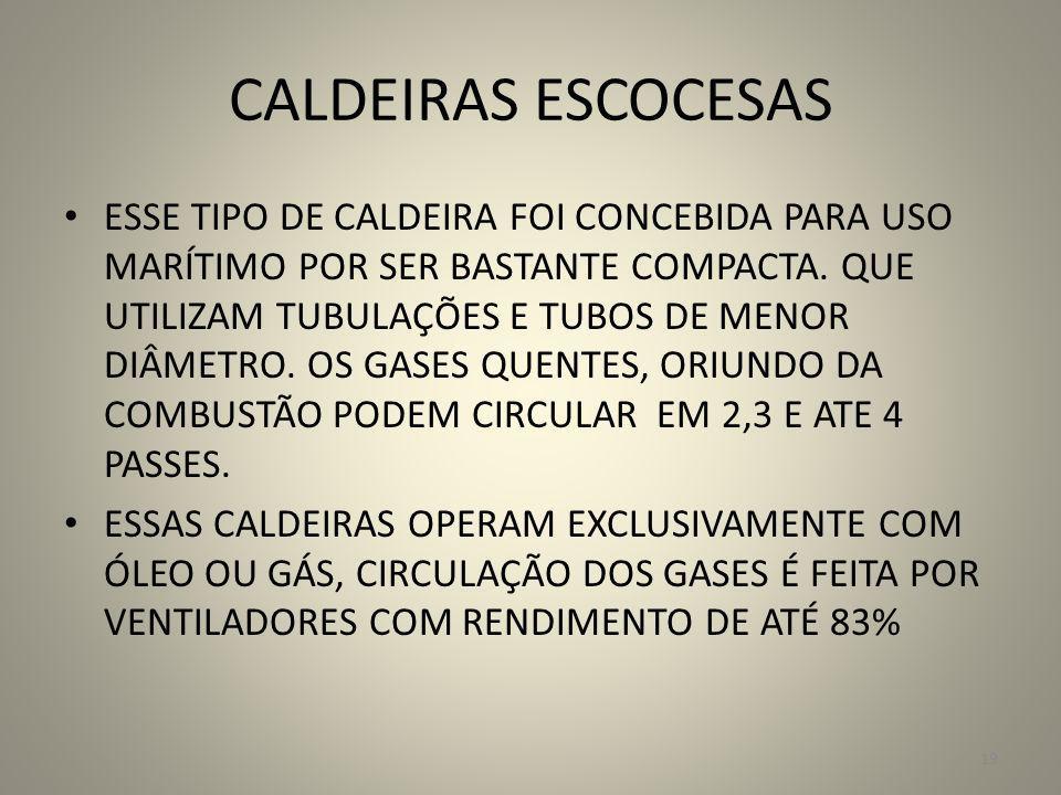 CALDEIRAS ESCOCESAS