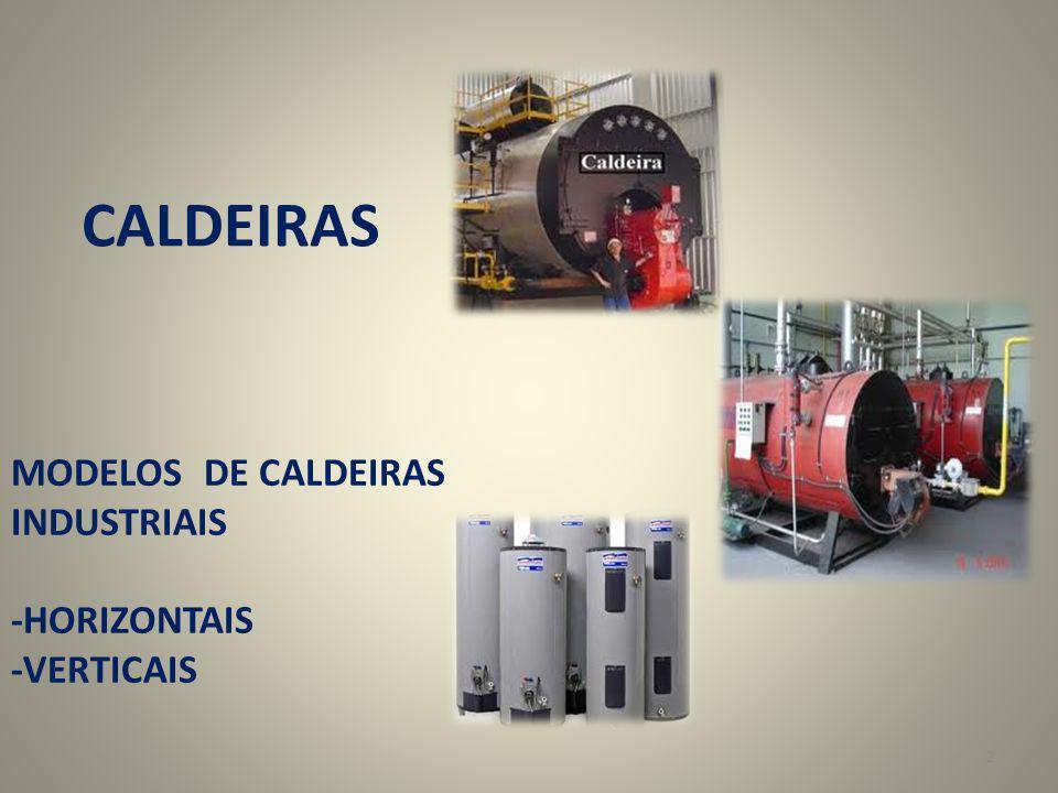 CALDEIRAS MODELOS DE CALDEIRAS INDUSTRIAIS -HORIZONTAIS -VERTICAIS
