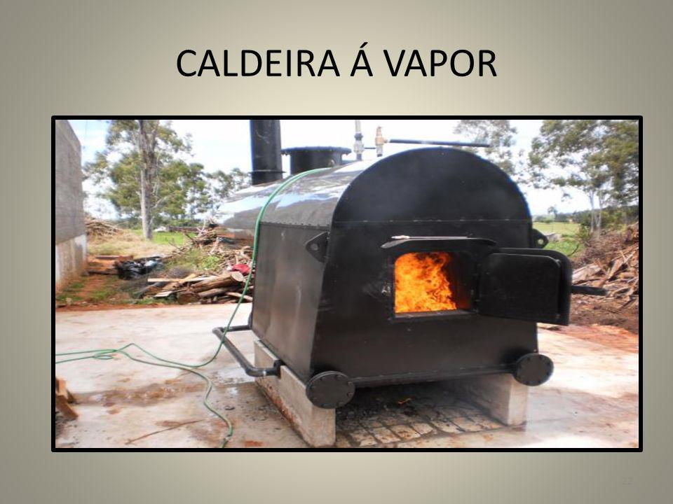 CALDEIRA Á VAPOR