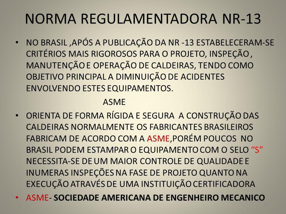 NORMA REGULAMENTADORA NR-13