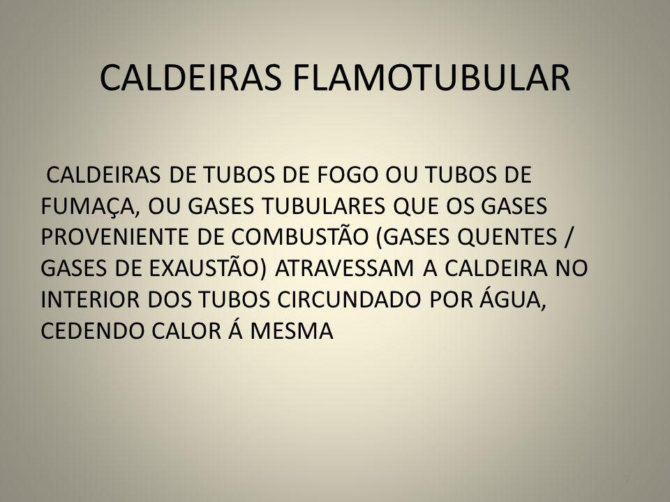 CALDEIRAS FLAMOTUBULAR