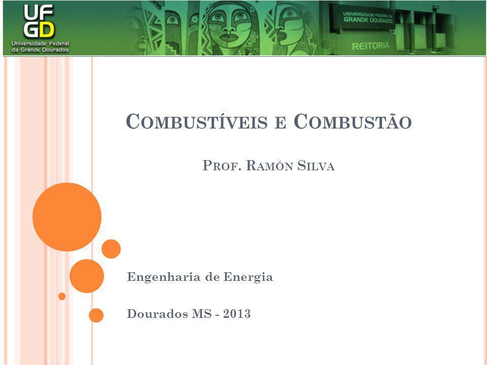 Combustíveis e Combustão Prof. Ramón Silva