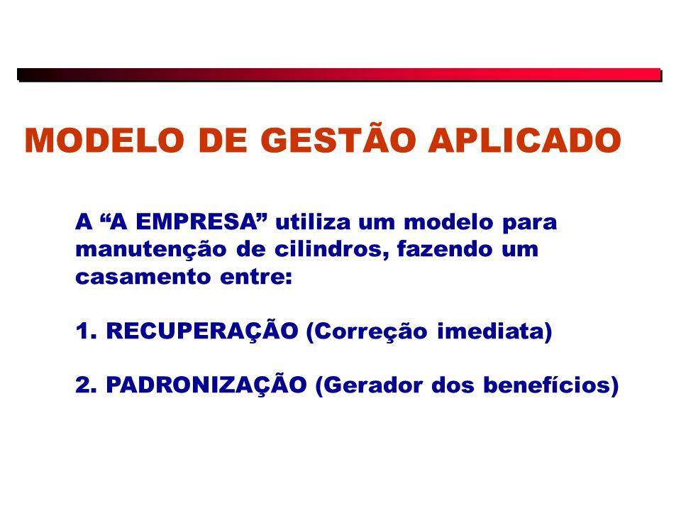 MODELO DE GESTÃO APLICADO