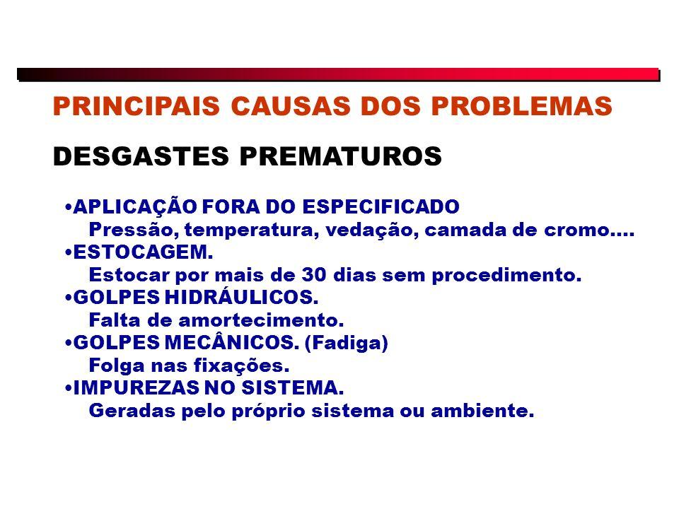 PRINCIPAIS CAUSAS DOS PROBLEMAS