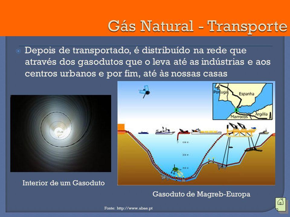 Gás Natural - Transporte