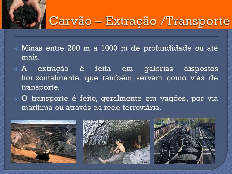Carvão – Extração /Transporte
