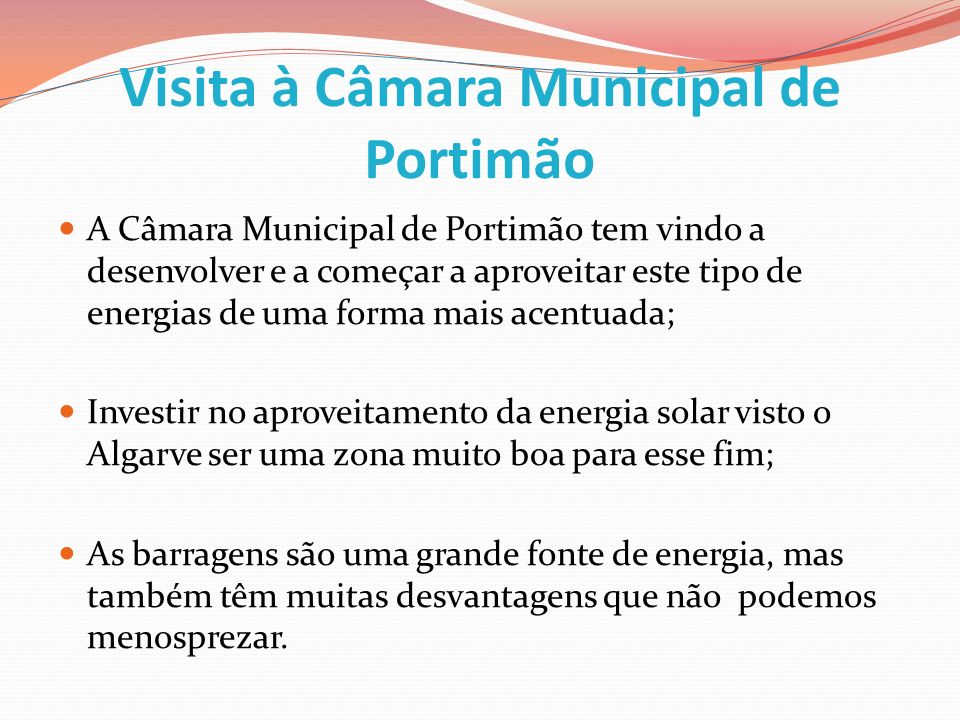 Visita à Câmara Municipal de Portimão