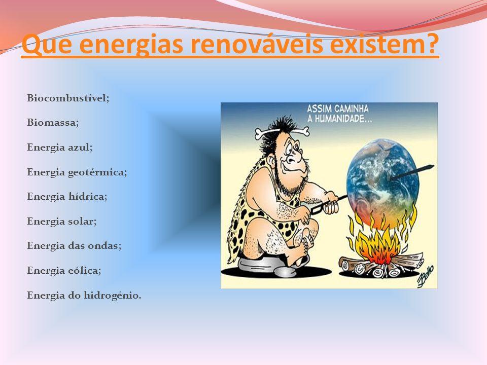 Que energias renováveis existem