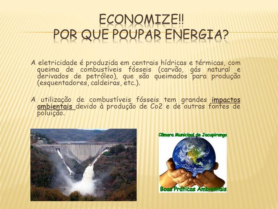 Economize!! Por que poupar energia