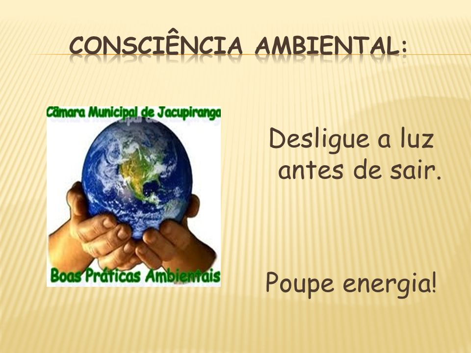 Consciência Ambiental: