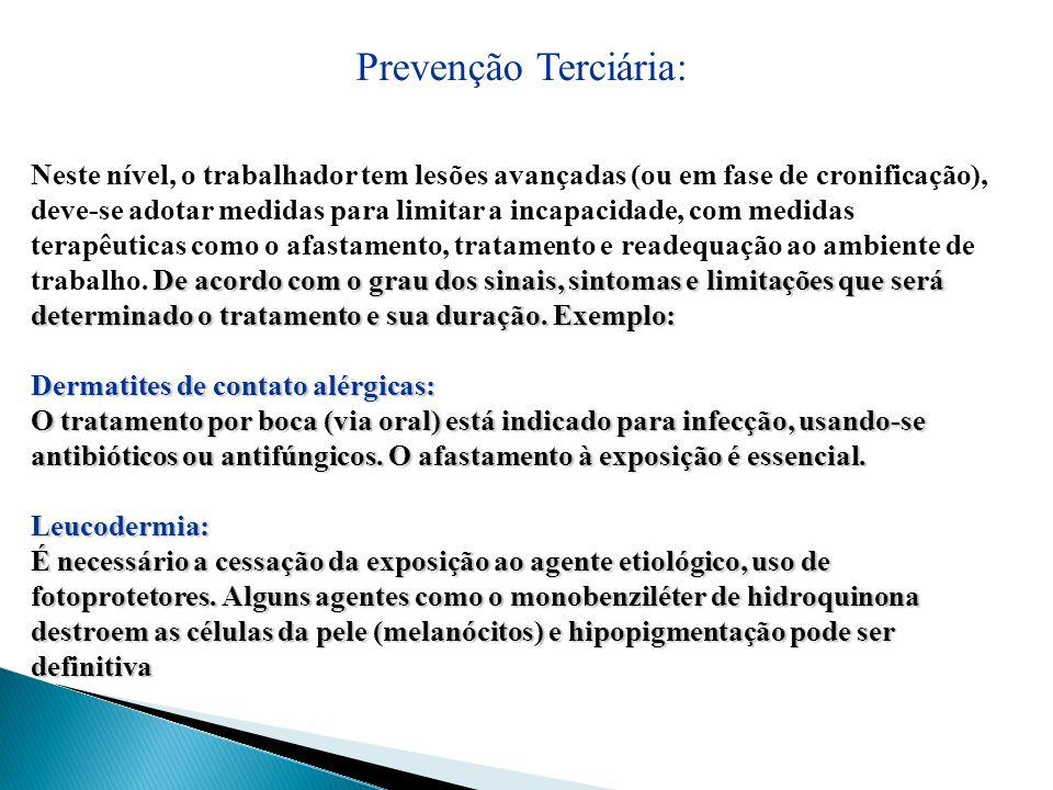 Prevenção Terciária: