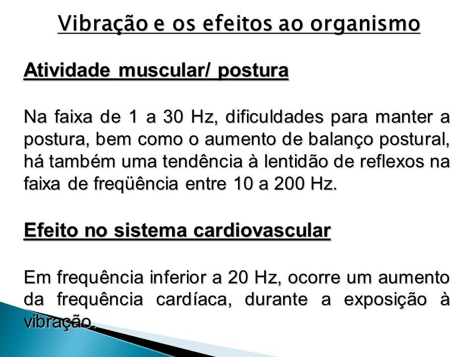 Vibração e os efeitos ao organismo