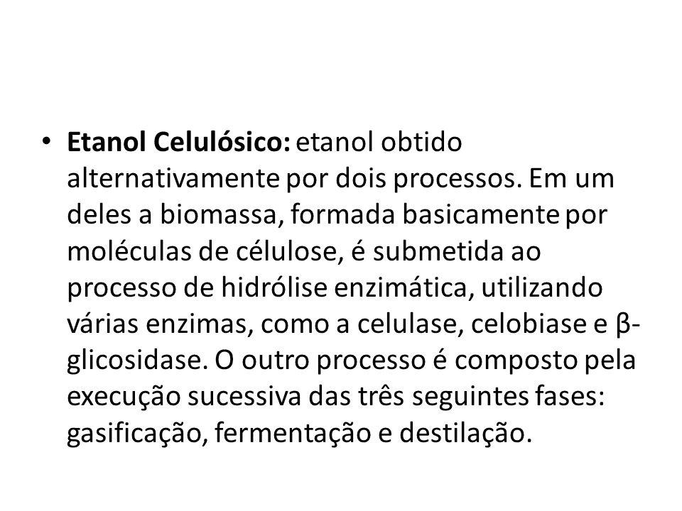 Etanol Celulósico: etanol obtido alternativamente por dois processos