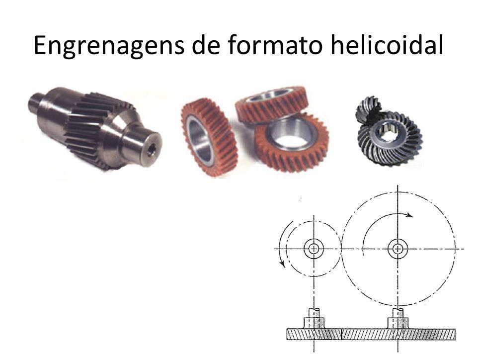 Engrenagens de formato helicoidal