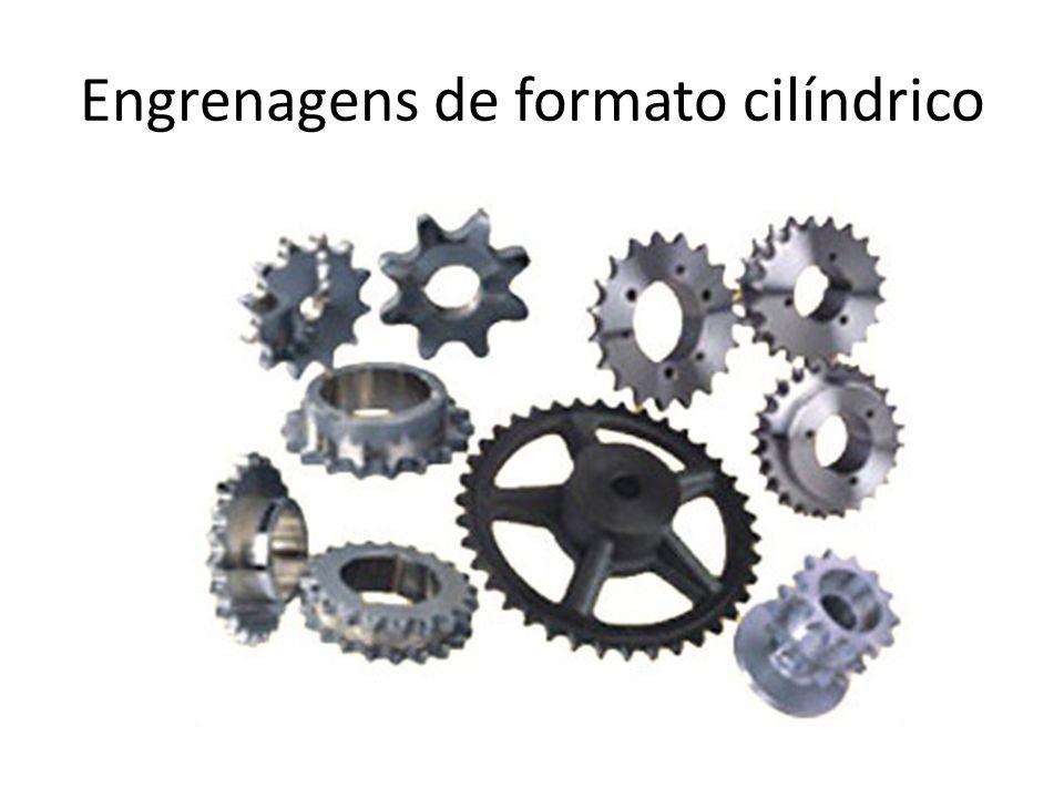 Engrenagens de formato cilíndrico