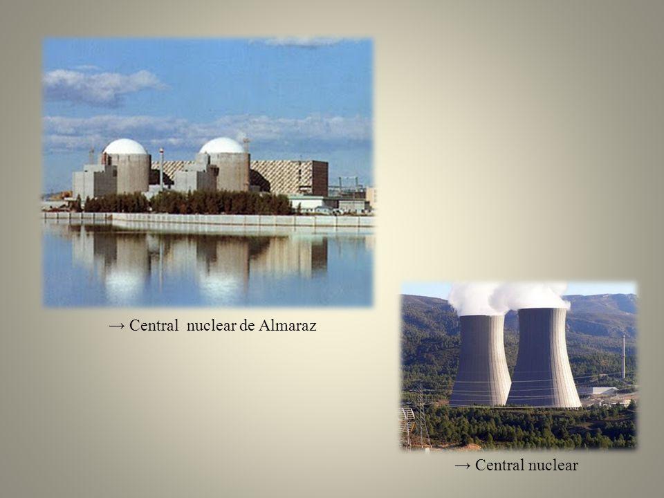 → Central nuclear de Almaraz