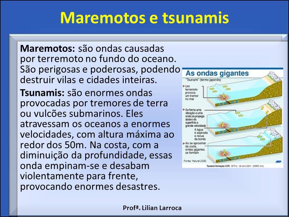 Maremotos e tsunamis