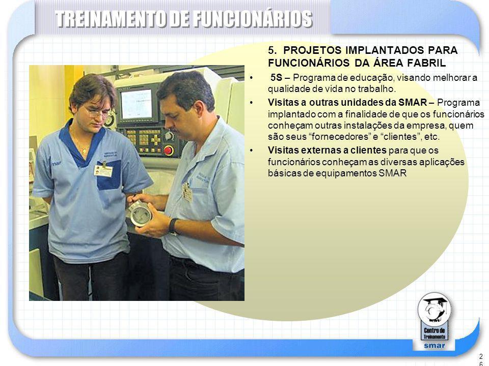TREINAMENTO DE FUNCIONÁRIOS