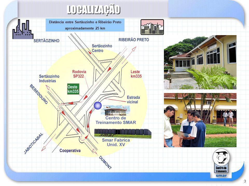 Distância entre Sertãozinho e Ribeirão Preto