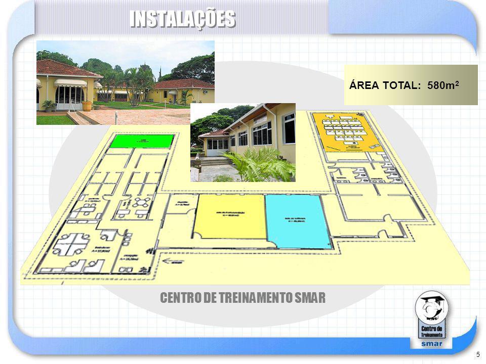 INSTALAÇÕES SALA DE SOFTWARE CENTRO DE TREINAMENTO SMAR
