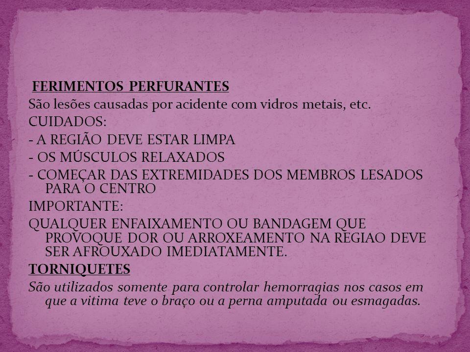 FERIMENTOS PERFURANTES