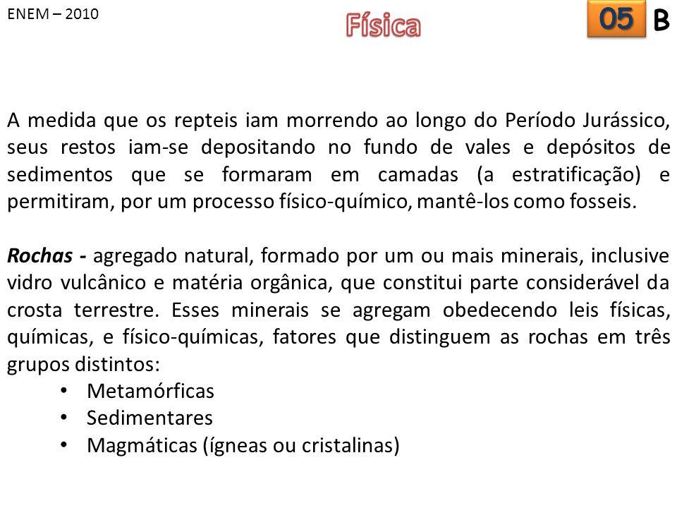 ENEM – 2010 Física. 05. B.
