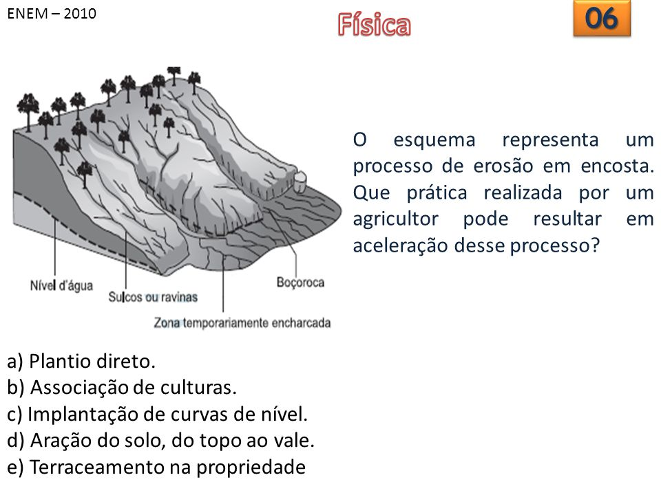 ENEM – 2010 Física. 06.
