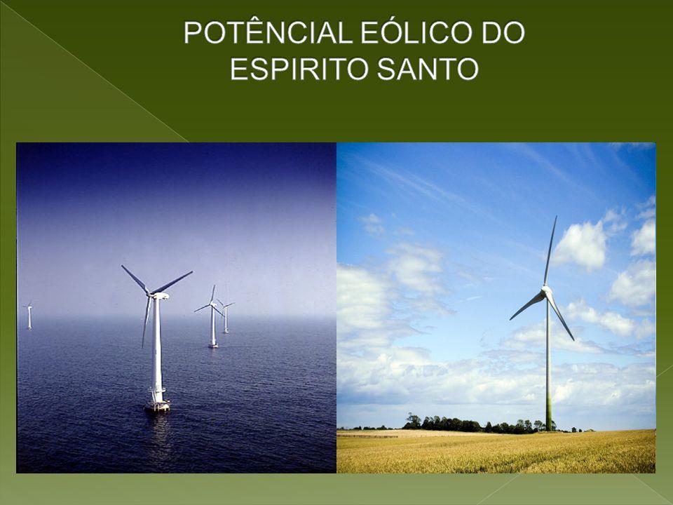 POTÊNCIAL EÓLICO DO ESPIRITO SANTO