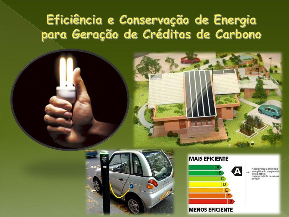 Eficiência e Conservação de Energia para Geração de Créditos de Carbono