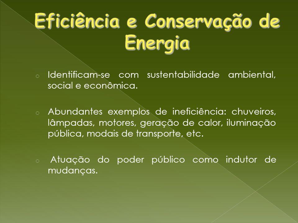 Eficiência e Conservação de Energia