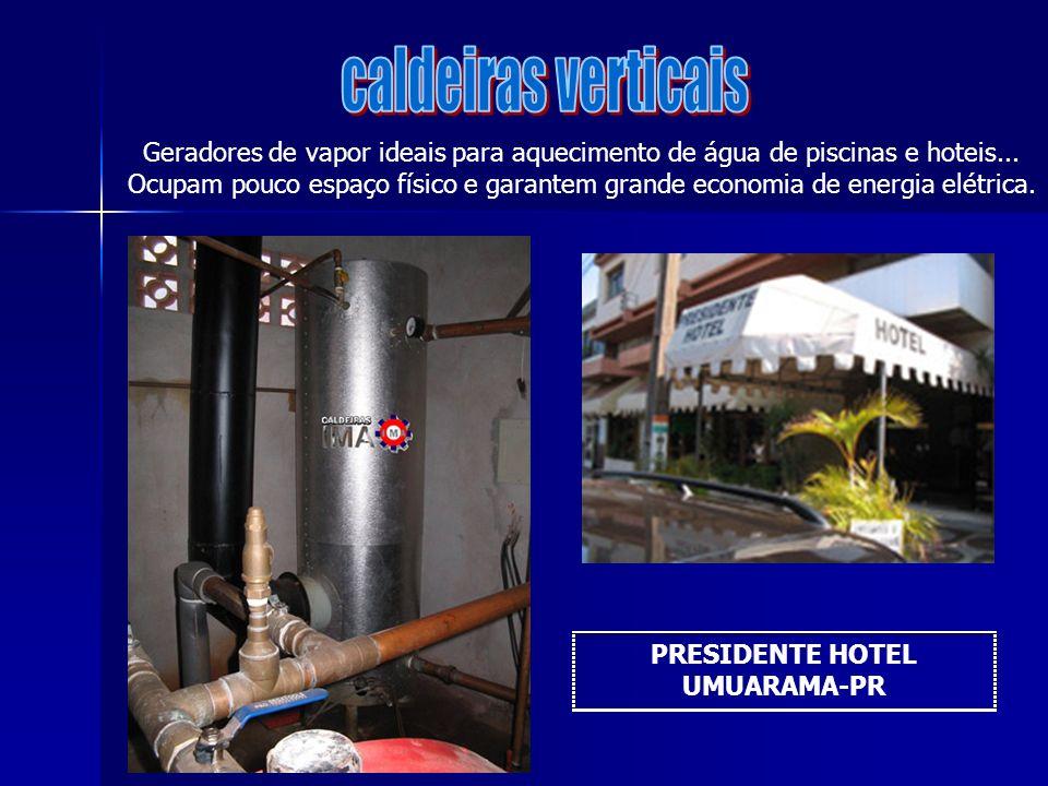 caldeiras verticais Geradores de vapor ideais para aquecimento de água de piscinas e hoteis...