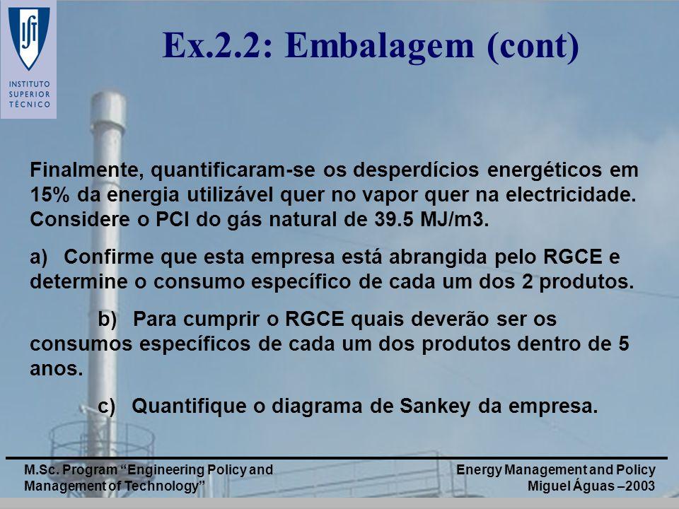 Ex.2.2: Embalagem (cont)