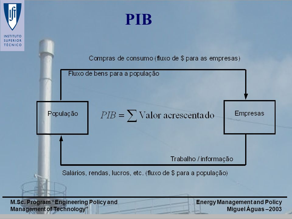 PIB M.Sc. Program Engineering Policy and Management of Technology