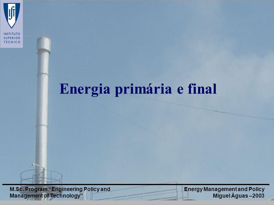 Energia primária e final