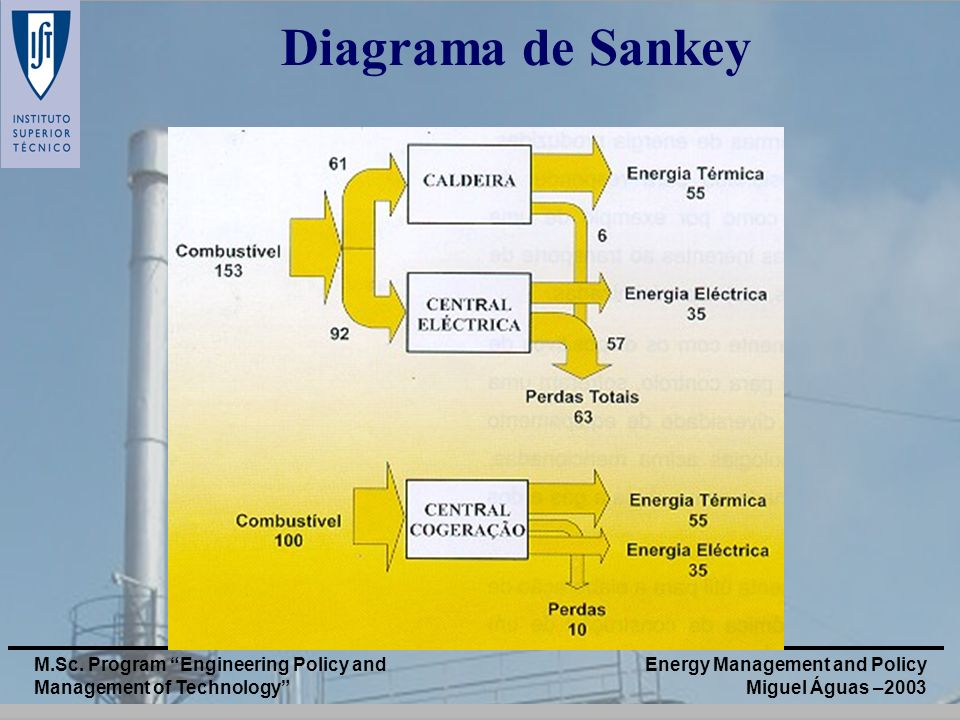 Diagrama de Sankey M.Sc. Program Engineering Policy and Management of Technology