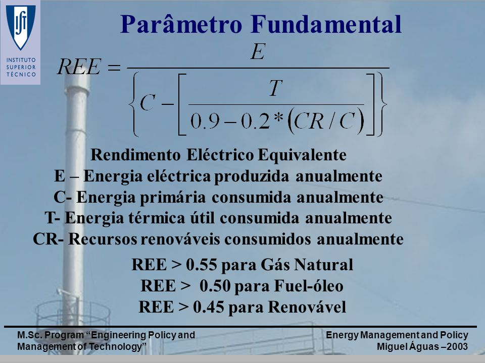 Parâmetro Fundamental